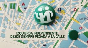 Izquierda Independiente siempre pegada a la calle
