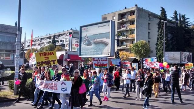 Marcha del Orgullo de Podgorica (Montenegro)