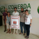 Foto de grupo con Pablo Aldama de Ganemos Colmenar