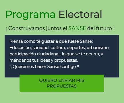 Quiero participar aportando ideas y propuestas al programa electoral