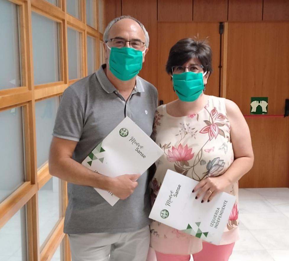 Presupuestos Sanse 2020 - Juan Torres y Carmen Palacios, concejales de Izquierda Independiente