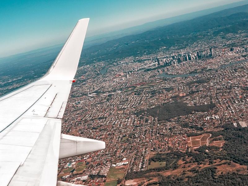 Ruido en ciudades provocado por aviones